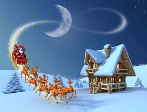 Der Weihnachtsmann verkleinert sich